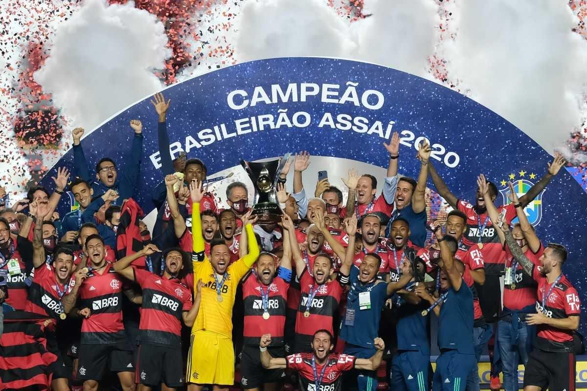 Flamengo campeão brasileiro de 2021