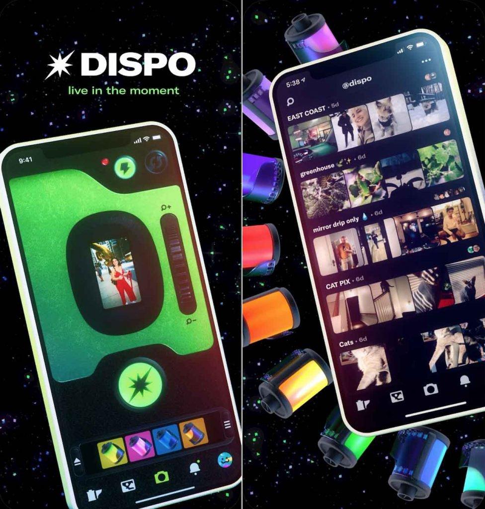 Novo app Dispo