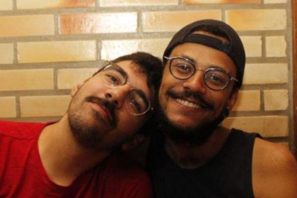 João Luiz e seu namorado, Igor Moreira