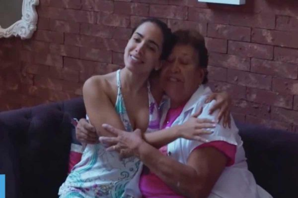 Anitta e dona Maria Ilsa - Processo na justiça do Rio