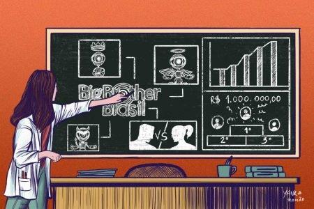 Ilustração - BBB no Acadêmico_