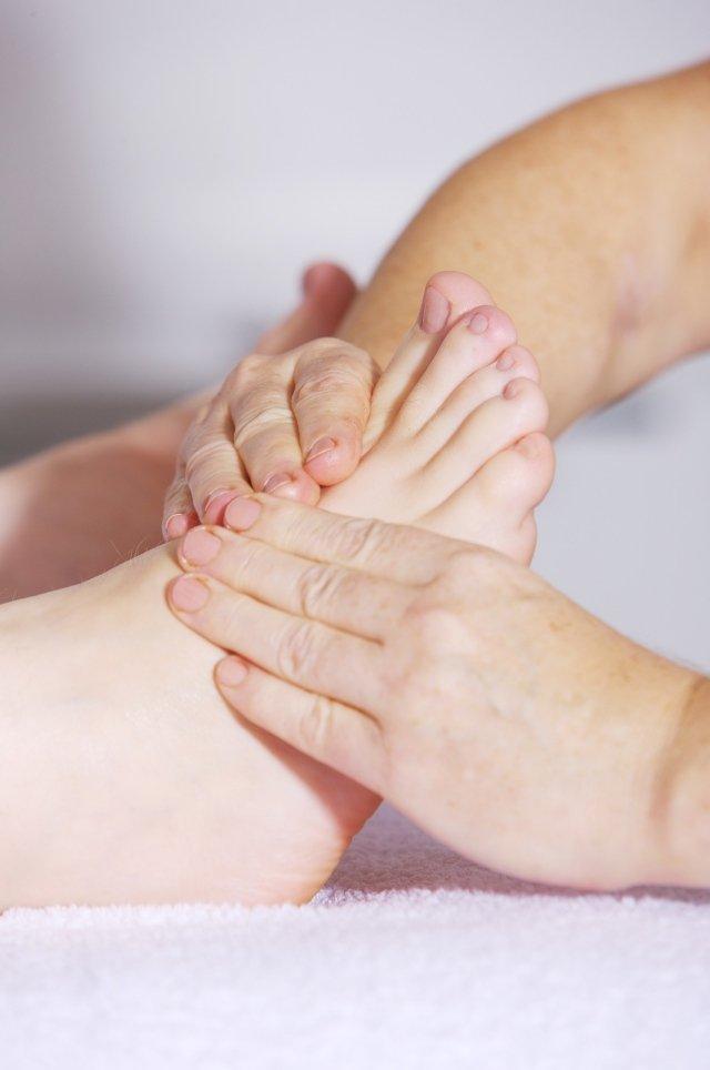 massagem pés