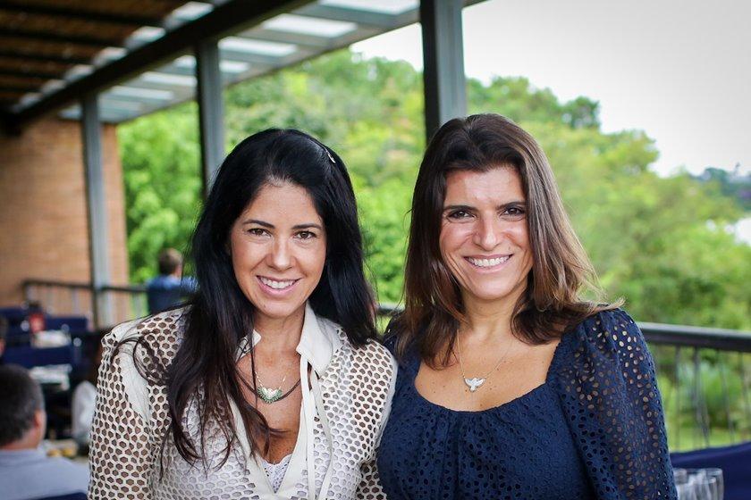 Flávia Negreiros e Karina Lima