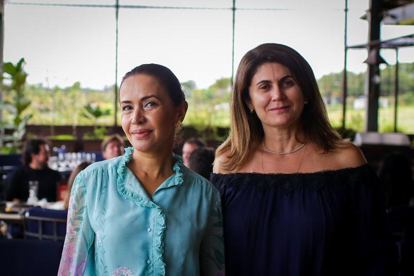 Claudia Meireles e Lú Getro