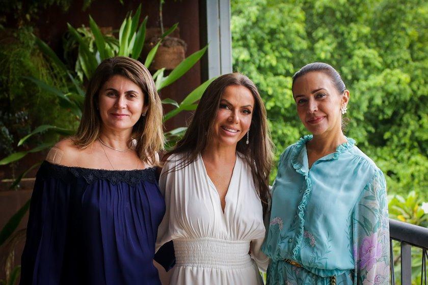 Lú Getro, Regina Abreu e Claudia Meireles