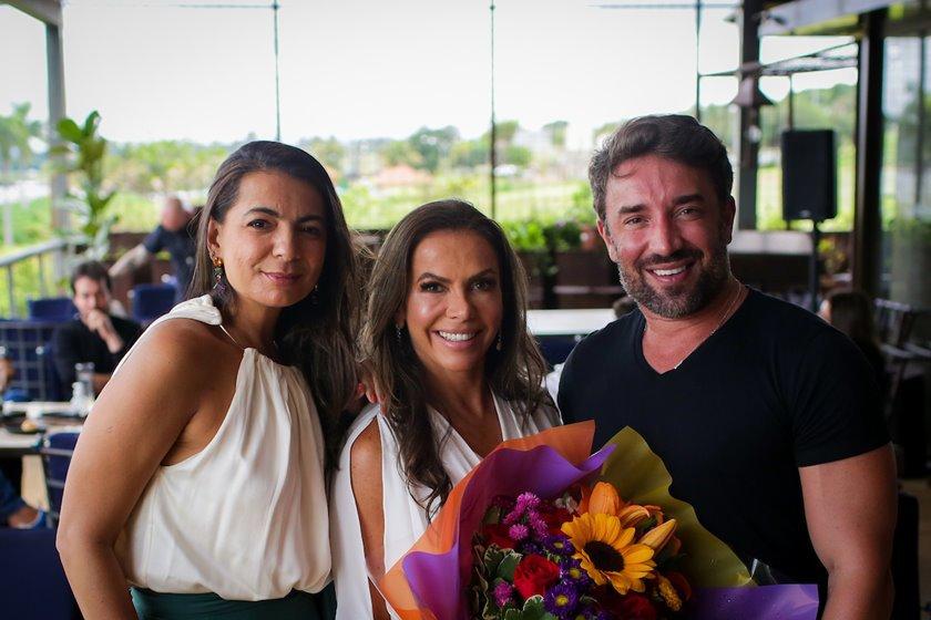 Tatiana Mauriz, Regina Abreu e André Monjardim
