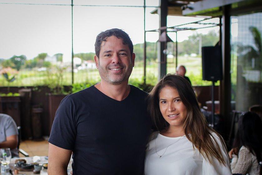 Rodrigo Alencastro e Caroline Azeredo