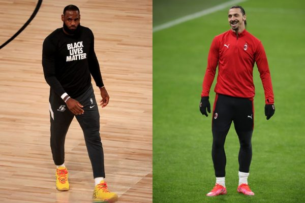 LeBron James e Zlatan Ibrahimovic batem boca por ativismo