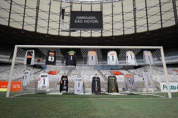 O goleiro Victor irá aposentar aos 38 anos e o Atlético-MG prepara homenagens
