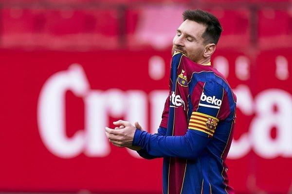 Messi decide contra o Sevilla