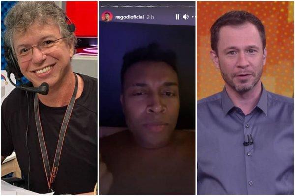 Boninho, Nego Di e Tiago Leifer
