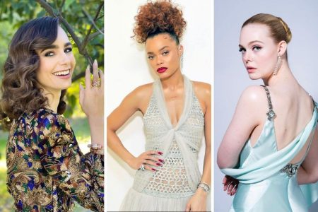 Lily Collins, Andra Day e Elle Fanning