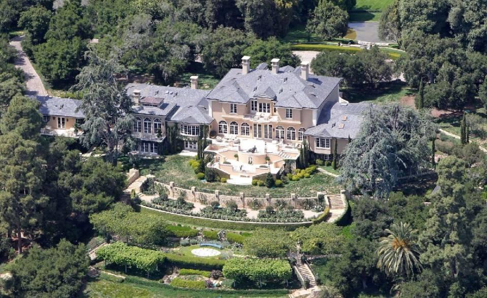 Residência de Oprah em Montecito, na Califórnia