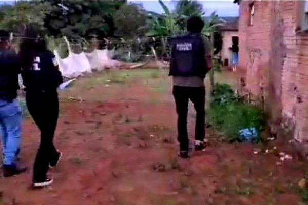Polícia Civil de Goiás em ação para prender acusado de estupro em Alto Paraíso