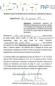 Rio-adere-ao-consorcio-da-FNP-para-compra-de-vacina contra a covid-19