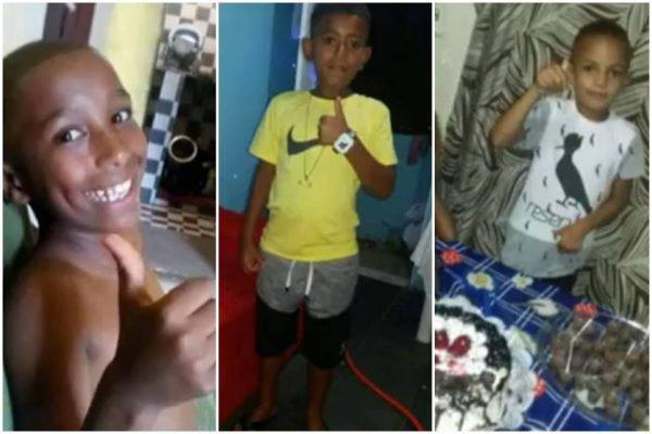 Crianças desaparecidas em Belford Roxo, no Rio