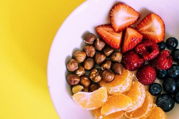 dieta prato com frutas