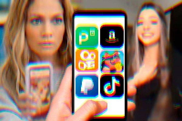Tela de celular mostra vários aplicativos para ganhar dinheiro