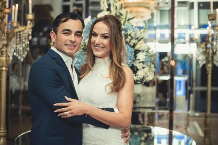 Renata d'Aguiar e Fábio Campos