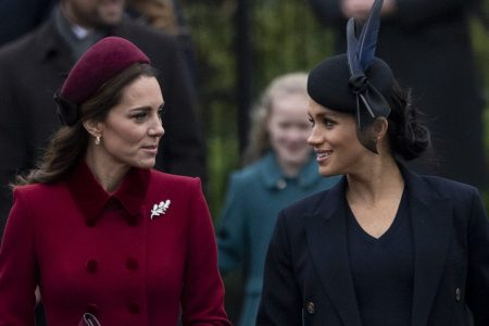 Kate Middleton e Meghan Markle