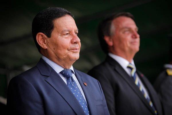 Mourão e Bolsonaro