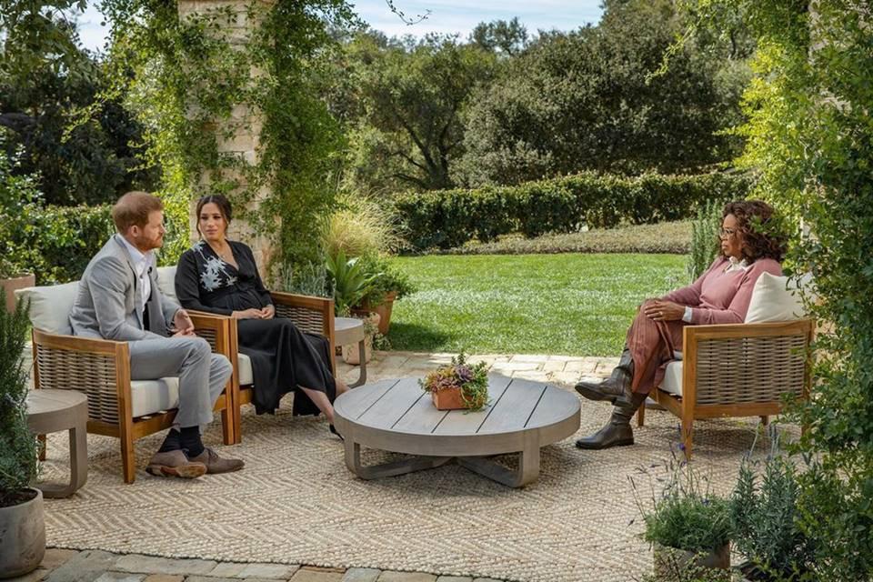 Príncipe Harry, Meghan Markle e Oprah Winfrey
