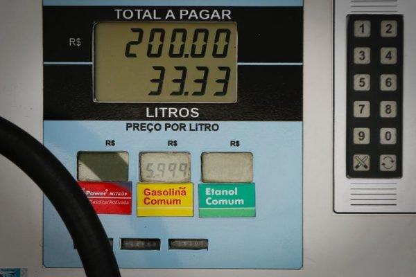 Aumento da gasolina no DF