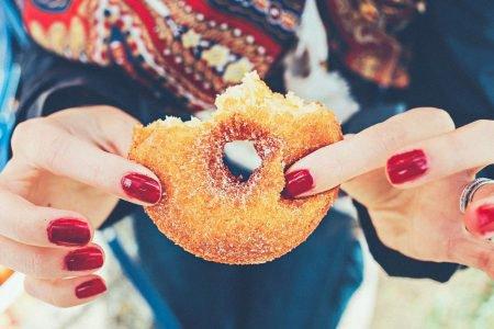 rosquinha donut açúcar