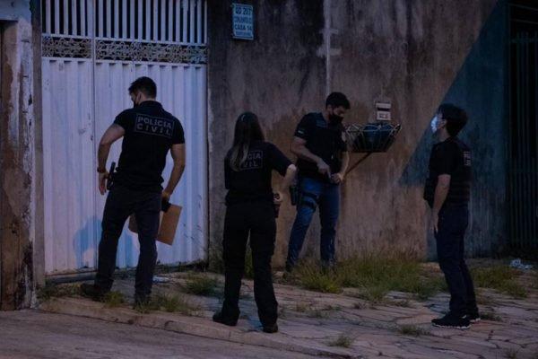 Operacao da Cecor da Polícia Civil do DF