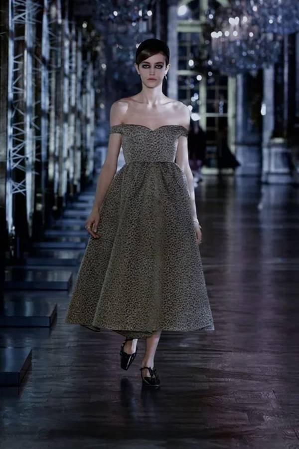 Look da coleção de outono/inverno 2021 prêt-à-porter da Dior