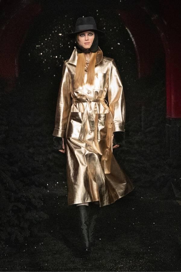 Look da coleção de outono/inverno 2021 prêt-à-porter da Chanel