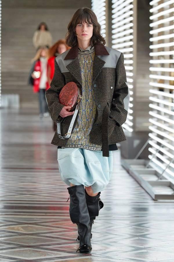 Look da coleção de outono/inverno 2021 prêt-à-porter da Louis Vuitton