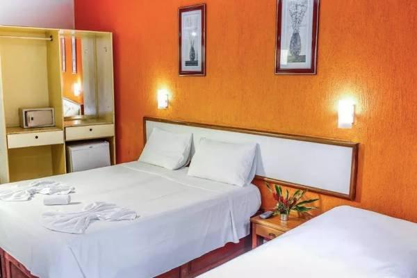 3 ou 4 diárias no Garça Branca Praia Hotel