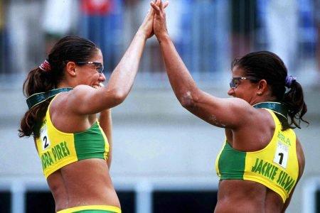 Sandra Pires e Jackie Silva