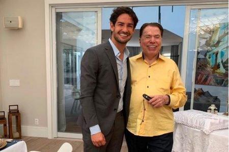 Alexandre Pato e Silvio Santos, genro e sogro