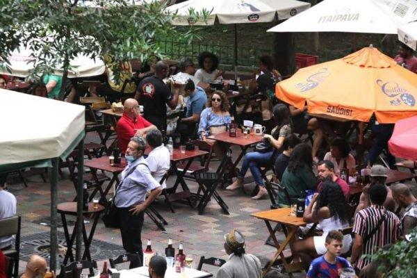 Bares em São Paulo na pandemia