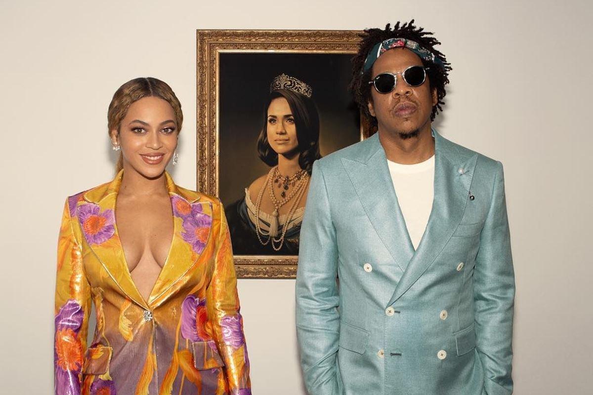 Beyoncé, Jay-Z e Meghan Markle