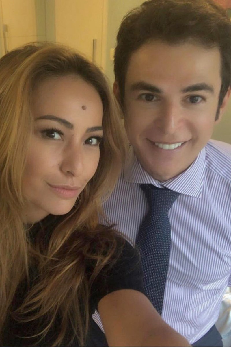 Sabrina Sato e Amilton Macedo