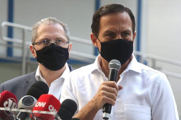 João Doria e Jean Gorinchteyn