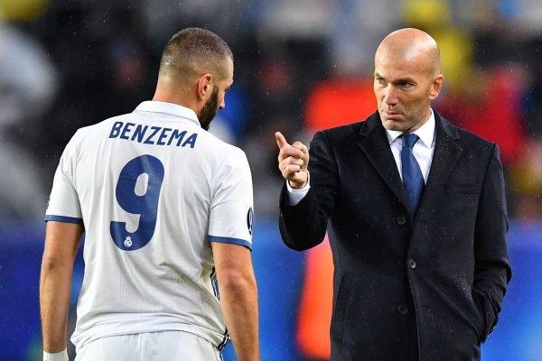 Benzema e Zidane