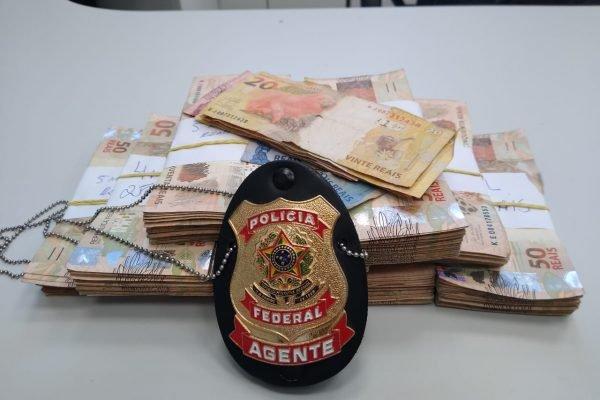 Polícia Federal do Rio apreende R$ 50 mil em espécie com traficante