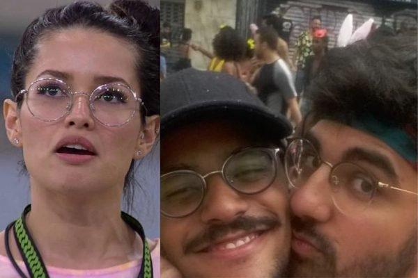 Juliette, João Luiz e Igor Moreira