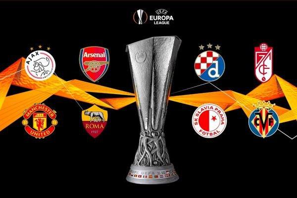 Sorteio das quartas de final da Europa League - Liga Europa