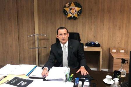 Allan Turnowski, secretário de Segurança Pública do Rio de Janeiro