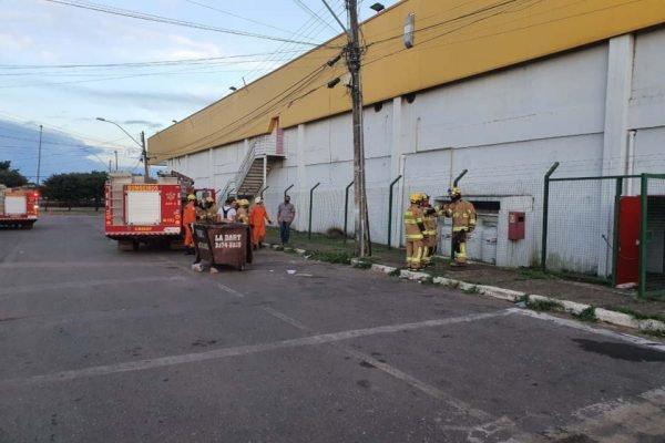 movimentação dos bombeiros