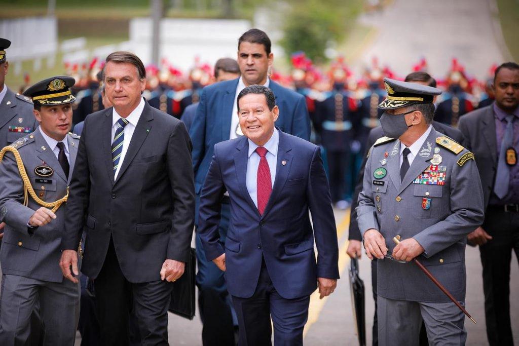 Mourao e jair Bolsonaro