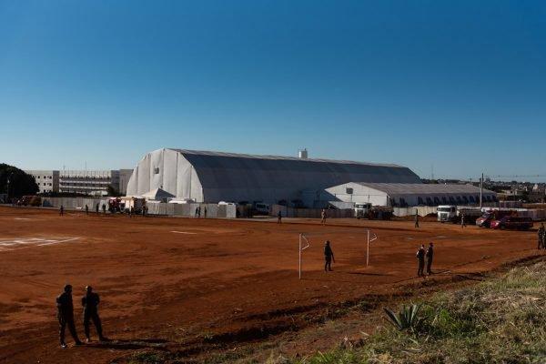 HCamp de Águas Lindas de Goiás, no Entorno do DF