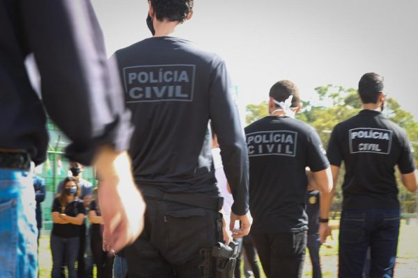 Policiais civis do DF