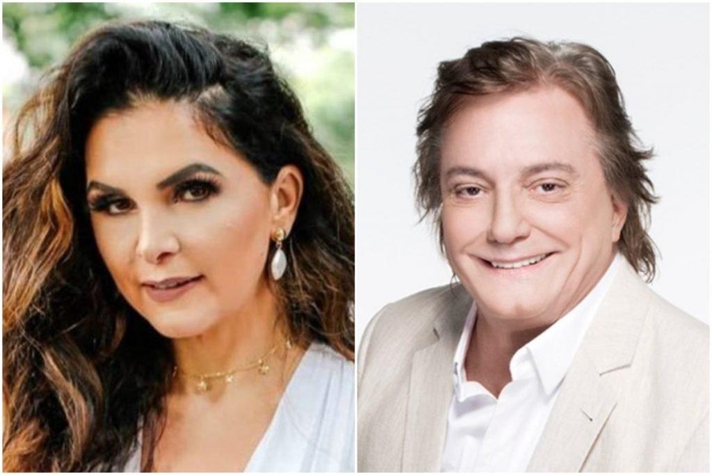 Luiza Ambiel e Fabio Jr