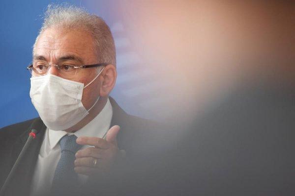 Marcelo Queiroga, ministro da Saúde, em entrevista coletiva